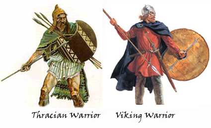 Thracian & Viking Warriors